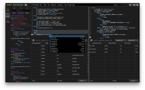 What is the best SQL query tool for a Mac? - Quora