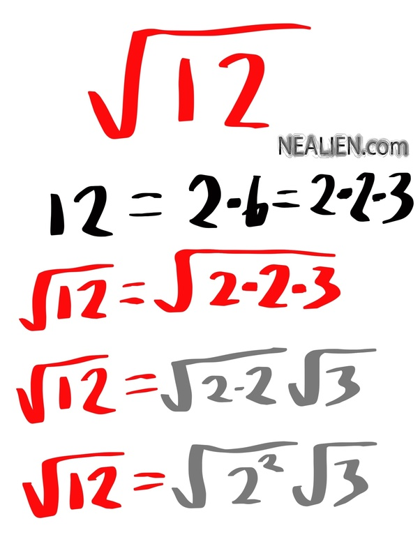What Is The Square Root Of 12 In Radical Form?