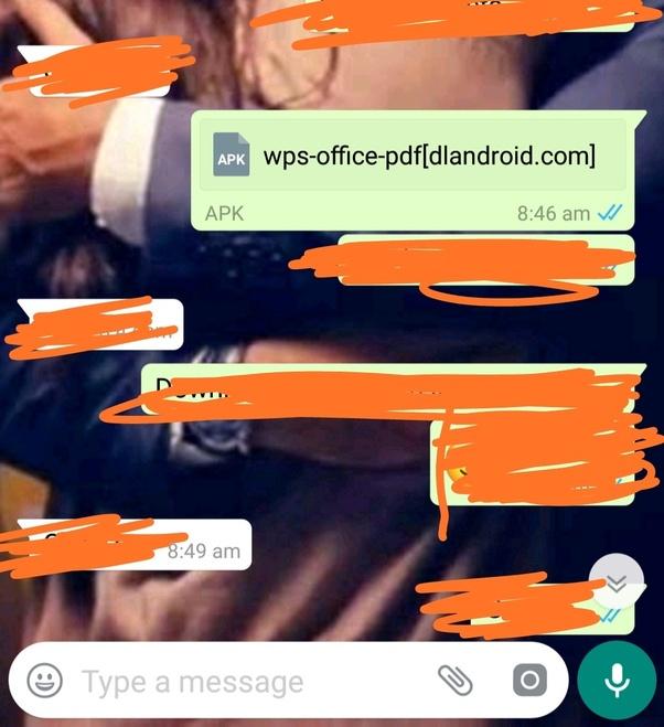 How to share APK files via WhatsApp - Quora