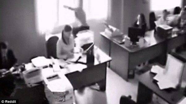 Are CCTV cameras in IT offices to keep a track of an