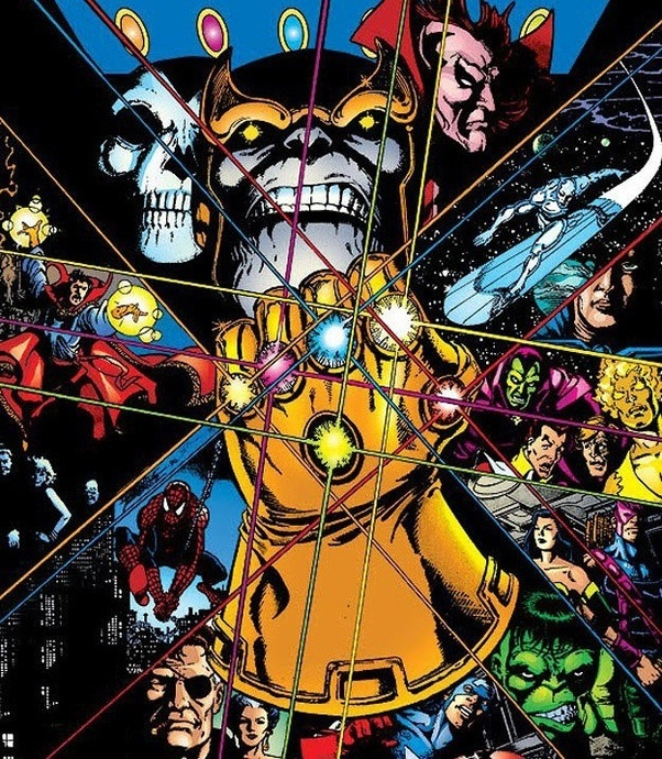 how strong would franklin richards with the infinity gauntlet be