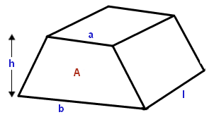 how to calculate the volume of a trapezoidal prism quora