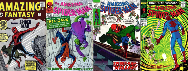 who created the story that the amazing spider man is based on what