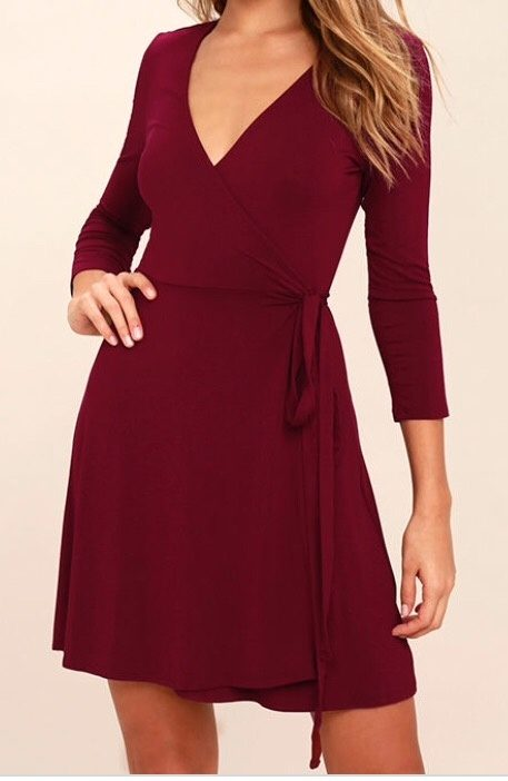 For me the winner every time is a wrap dress! There's are so many styles  these days in a vast choice of colours, lengths, style and materials to fit  any ...