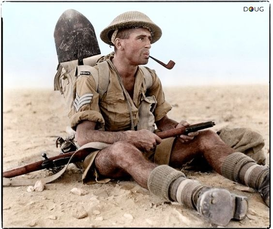 Why Did The British Army In The 1940′s Wear Shorts In The