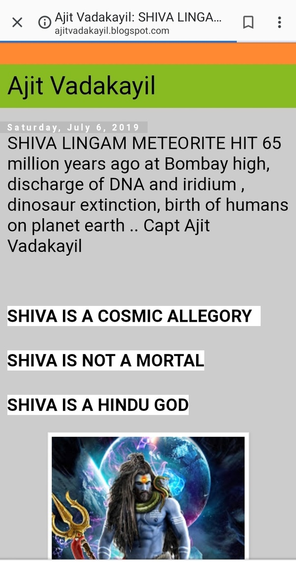 What are some surprising facts about Lord Shiva? - Quora
