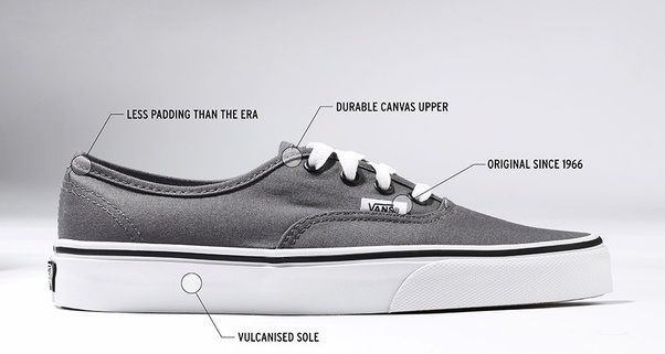 36f8362abea2 What are the differences between Vans Era and Vans Authentic  - Quora