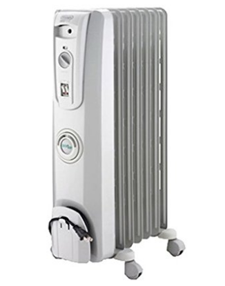 Radiator Space Heater for Silent and Even Heat by DeLonghi