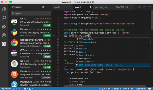 Which is better between Sublime Text, Visual Studio Code and Atom io