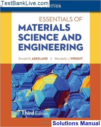How To Find The Solutions Manual For Essentials Of Materials Science
