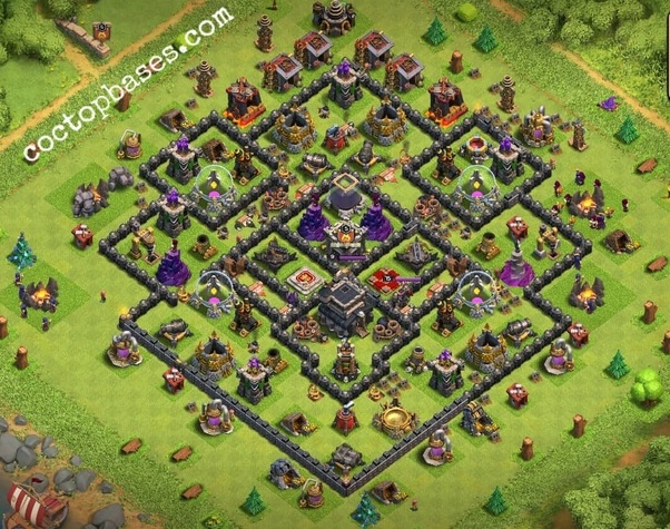 Undefeated Coc Th 8 Base 2