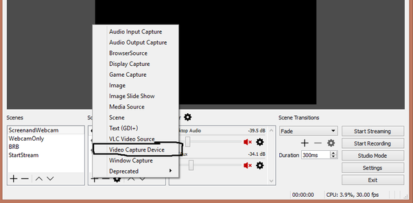 How to add Facecam to OBS - Quora