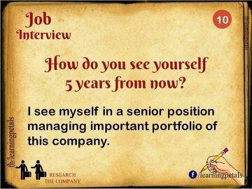Where Do You See Yourself In Coming Years?