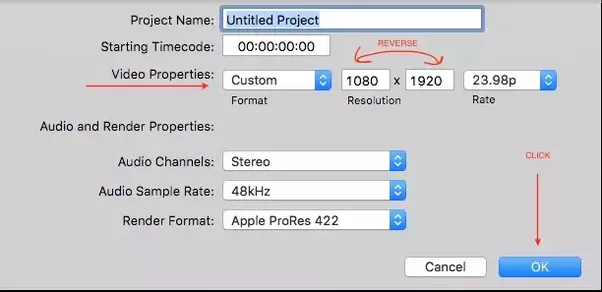 how to save project for further editing fina cut pro