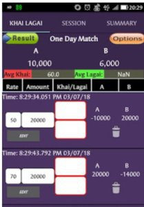 Terms used in cricket betting rate how to bet on football games online
