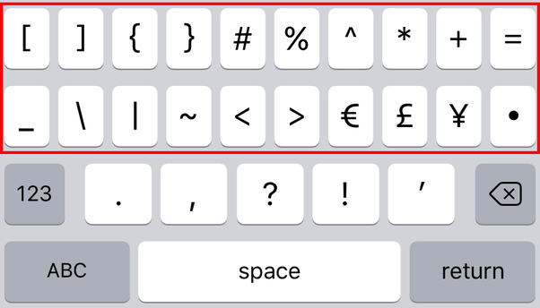 What is the easiest key to miss on an iPhone keyboard? - Quora