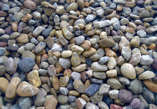 How Much Does A Yard Of River Rock Weigh Quora