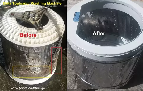 what is the best way to clean a washing machine quora. Black Bedroom Furniture Sets. Home Design Ideas