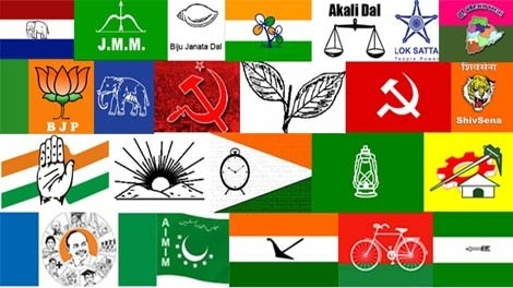 How Many Political Parties In India Along With Their Symbol And