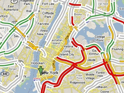 How Does Google Maps Change Its Colour In The Case Of Road Jams Quora - How to change color of google map