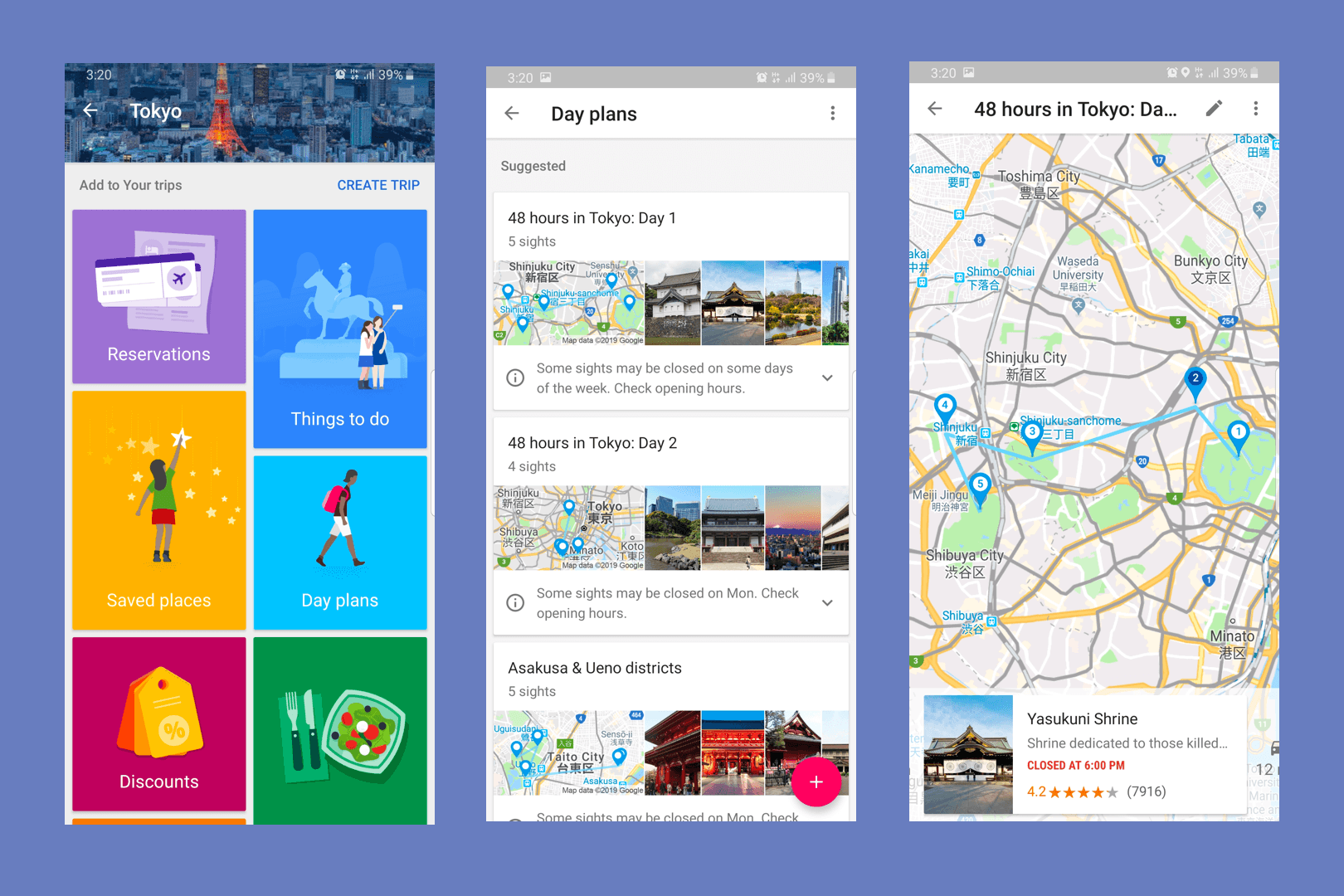 What is the best website or app to use for trip planning, and why