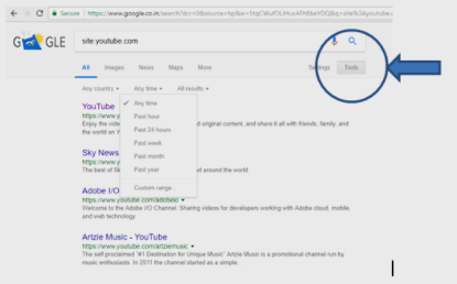 How to search YouTube by an arbitrary date range - Quora