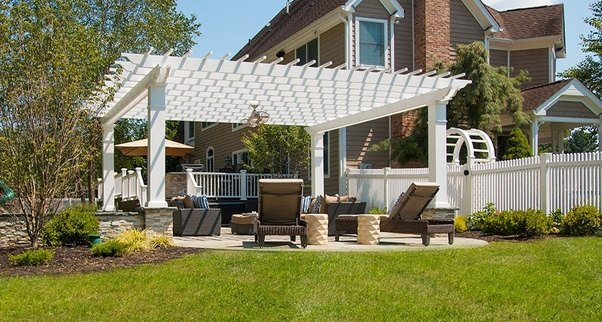 Each of these parts are available in different sizes and can be made from a  number of different materials, common choices are wood, fiberglass, vinyl,  ... - What Are The Parts Of A Pergola Called, And What Function Does It