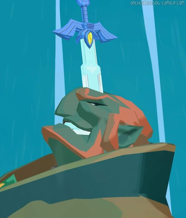 Why Did The Wind Waker S Ganondorf Turn Into A Stone Getting