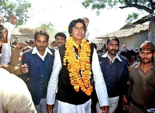 Image result for amitabh bacchan politics