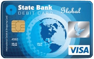 and if international transaction isnt active in your sbi card then you can request for global debit card from your internet banking - International Visa Card