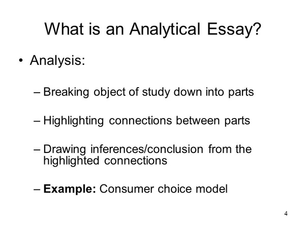 Is There A Difference Between Analytical Essays And Evaluating