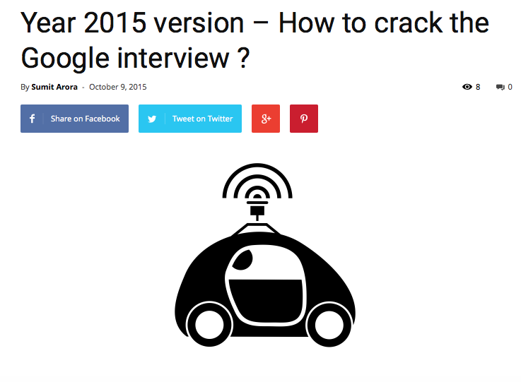 What does it take to crack Google's interview? - Quora