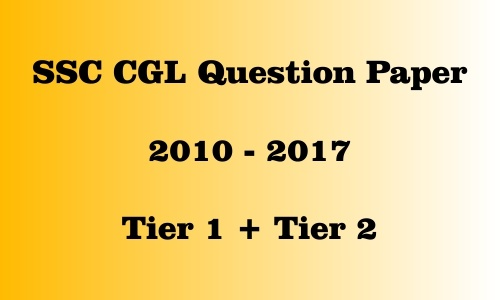 Where can I download SSC CGL old question papers? - Quora