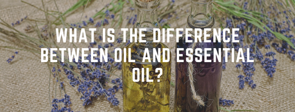 What is the difference between oil and essential oil? - Quora