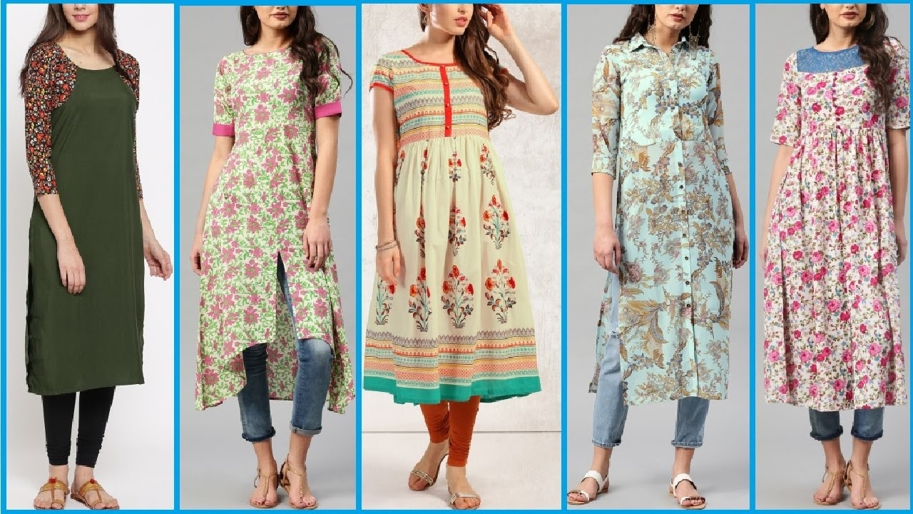 3f645ee87d You can choose long kurtas with palazzo, straight pants or gararas. The  kurta should be the length of your calf or a little above that.