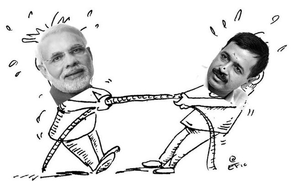 Image result for bjp vs aap