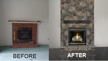How To Update A Fireplace Charming Fireplace
