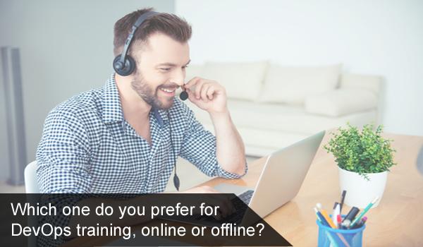 Which one do you prefer for DevOps training, online or offline? - Quora