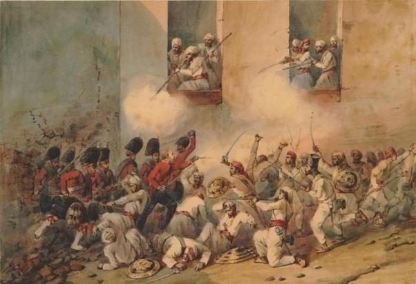 Pilm  Indian Rebellion Of 1857  Battle Of The Alamo