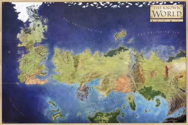 Are there maps of the lands beyond the seven kingdoms in a song of however this map needs to be taken with a grain of salt from grrm himself the idea was to do something representing the lands and seas of which say gumiabroncs Choice Image