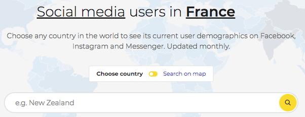 facebook user demographics