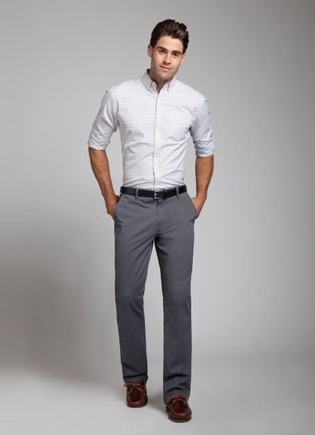 What color should I wear with gray pants?