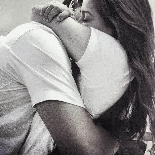 Tight hug image