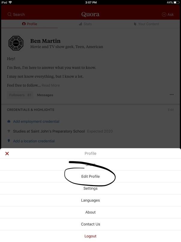 how to write a bio for myslef on website