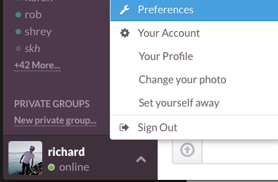 how to delete channels in slack
