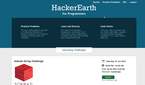 Why does HackerEarth not sue HackerRank for copying their site? - Quora