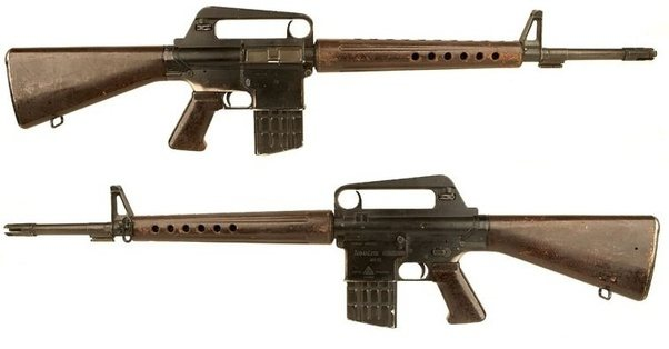 has the ar 15 ever been used by the us or other nations military