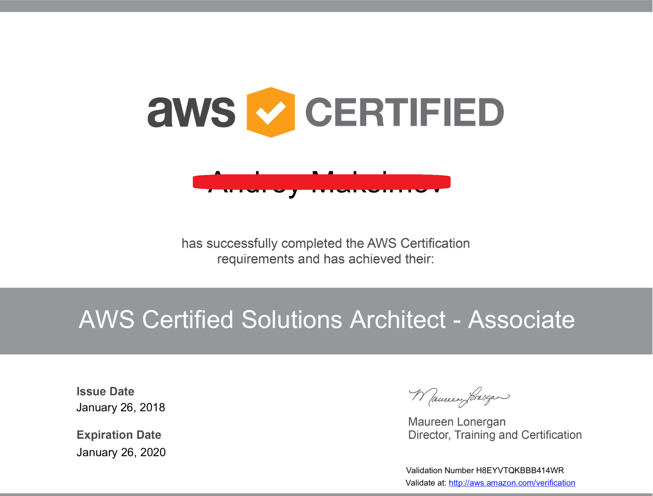 How Long Does It Take Aws To Provide You The Certificate After You