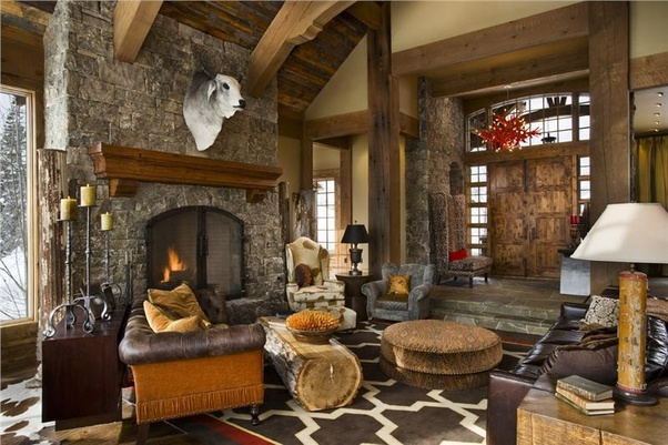 what is rustic style in interior quora