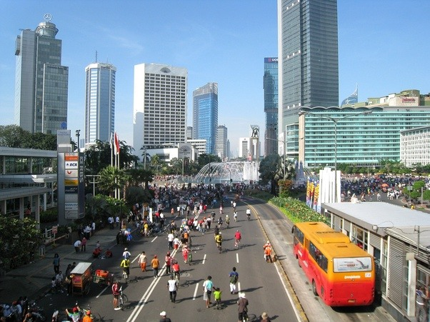 Richest cities in indonesia
